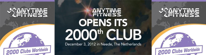 2000 Clubs for Anytime Fitness