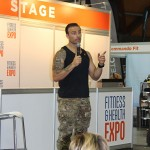 2015 Sydney Fitness & Health Expo - VIP Education Session - Biggest Loser Celebrity Trainer - Commando Steve