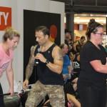 2015 Sydney Fitness & Health Expo - VIP Training Sessions - Commando Steve