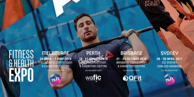 2016 Melbourne Fitness & Health Expo - Intro