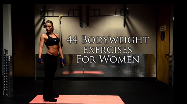 44 Best Bodyweight Exercises Ever for Women