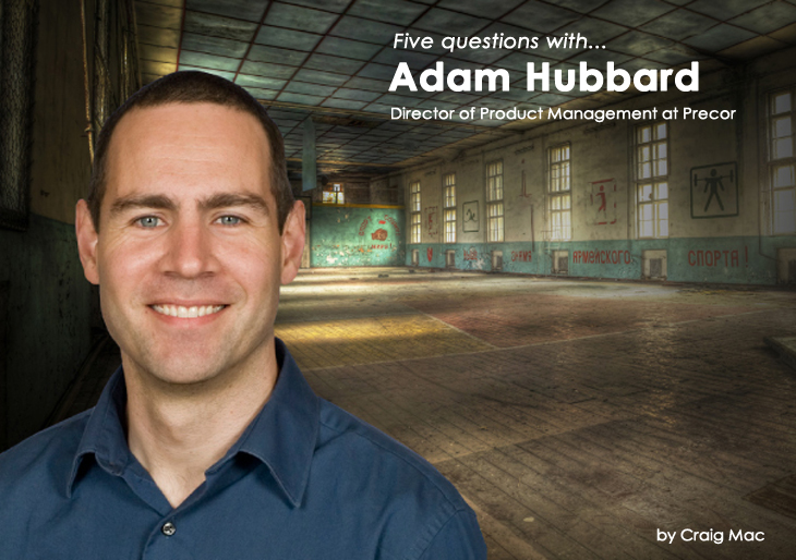 Five Questions With Adam Hubbard