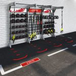 Aktiv Solutions - The Wall with Fitgraphix flooring