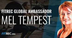 First FITREC Ambassador Announced - Mel Tempest