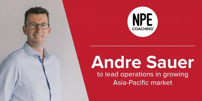 Andre Sauer - New NPE APAC Director