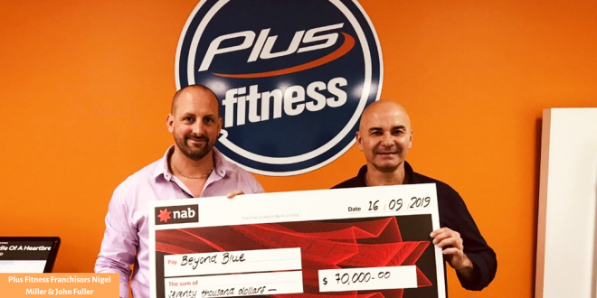 Plus Fitness 'Lift Yourself Up' Campaign Raises Much Need Funds For Beyond Blue