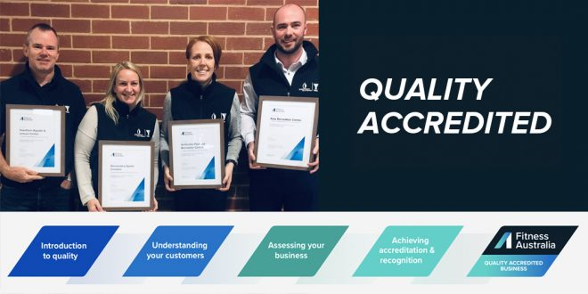 Quality Accreditation Achievement: YMCA Boroondara Leisure and Aquatic Facilities