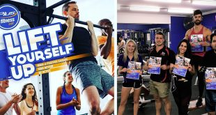 Beyond Blue Membership Promotion at Plus Fitness - Getting involved