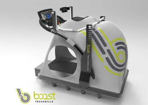 The Boost Treadmill with Woodway 4Front