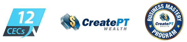Create PT Wealth - Business Mastery Program Banner