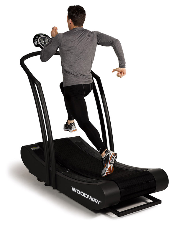 Summit Fitness Equipment - Woodway Curve Running Man