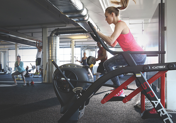 Cybex Sparc Power Challenge - In Action