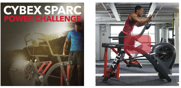 Cybex Sparc Power Challenge - View Video