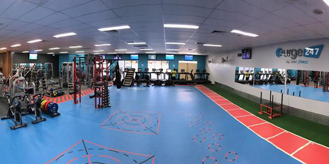 EYE Fitness Installation at Surge Fitness Wanneroo Installation