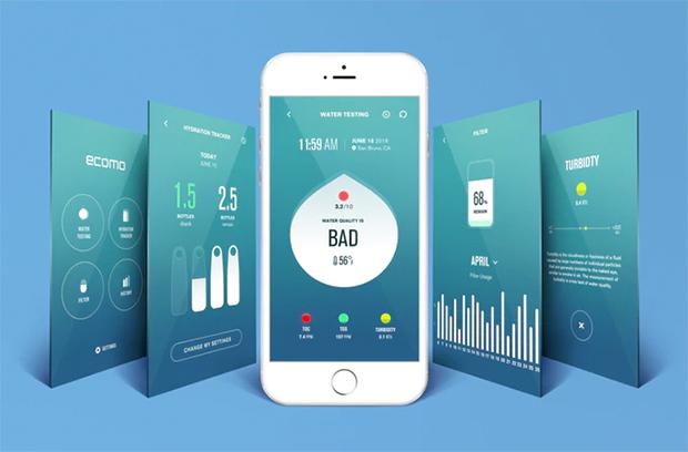Ecomo Water Bottle - App
