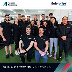Enterprise Fitness - Quality Accredited Business - Team Shot