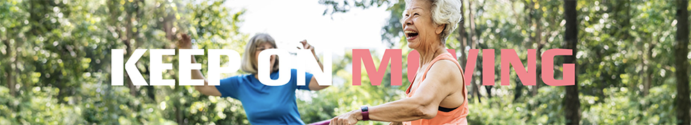 Fitness Australia's Keep on Moving campaign