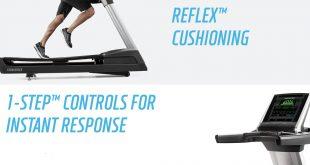 Groundbreaking Treaddmill Features - The SMARTSERIES™ REFLEX™