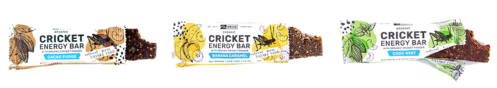 Grilo - Cricket Energy Bars