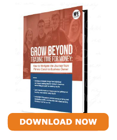 Grow Beyond Trading Time For Money - Download here for free