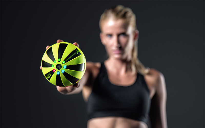 HYPERICE - The hypersphere and hypershere mini - yellow