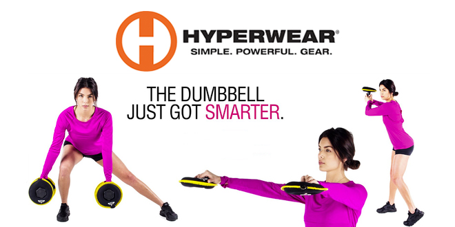 Hyperwear - The Dumbbell Just Got Smarter