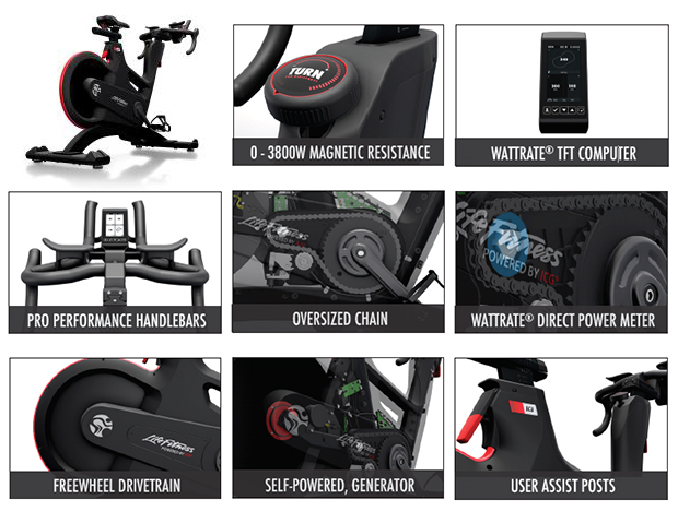 IC8 - Indoor Group Cycling Power Trainer