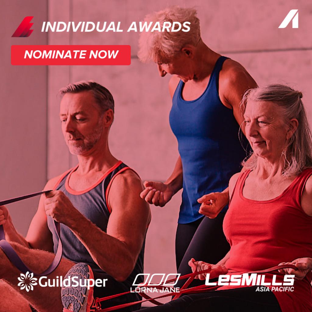 Australian Fitness Awards - Individual award