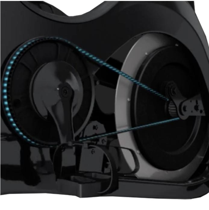 Johnny G Spirit Bike - Belt Drive System