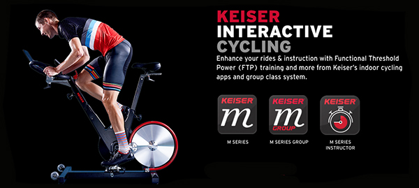 Keiser M3i - Interactive Experience
