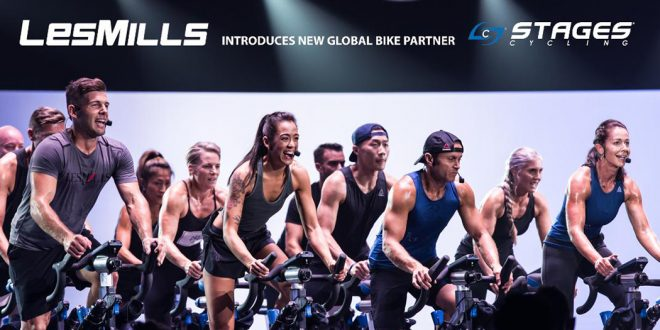 Stages Indoor Cycling - World Leaders with Les Mills