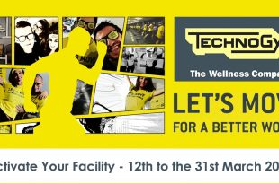Technogym's Let's Move For A Better World 2018