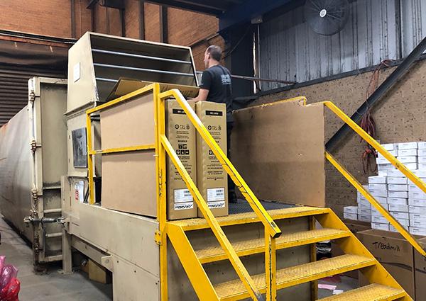 Life Fitness Australia HQ - Cardboard Compactor