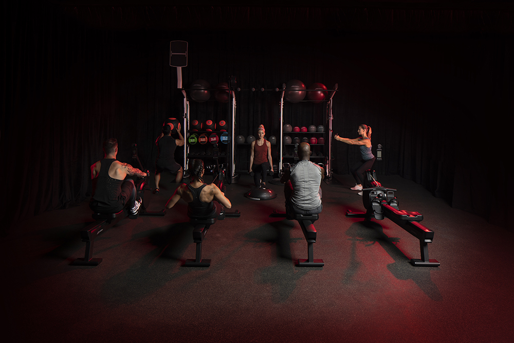 Life Fitness - Group Session - New Heat Rowers