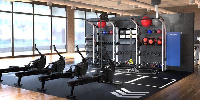 Life Fitness - Heat Rowers Room