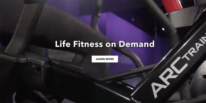 Life Fitness launch new website