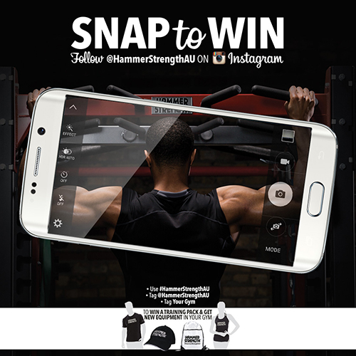 Life Fitness - SNAP to WIN Follow @HammerStrengthAU