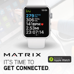 Get Connected: Matrix Fitness enable GymKit on 500 pieces of cardio