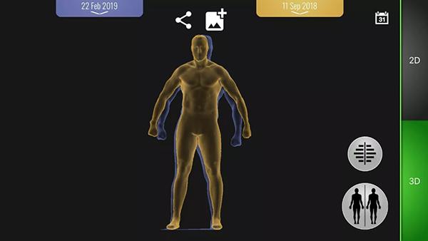 MYZONE MZ-BODYSCAN - Screen Capture