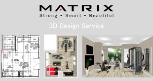 Matrix Fitness Australia - 3D Design Service