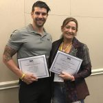 Mel Tempest & Matthew Wright - IHRSA Scholarship Award Winners