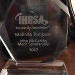 Mel Tempest - IHRSA Scholarship Award