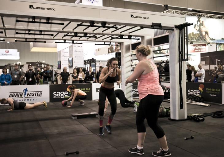 Queenax - Celebrity Michelle Bridges Workout Session
