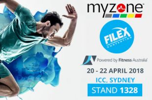Myzone Wearable Technology at the 2018 Sydney Fitness Show