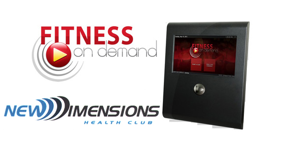 New Dimensions install Fitness on Demand