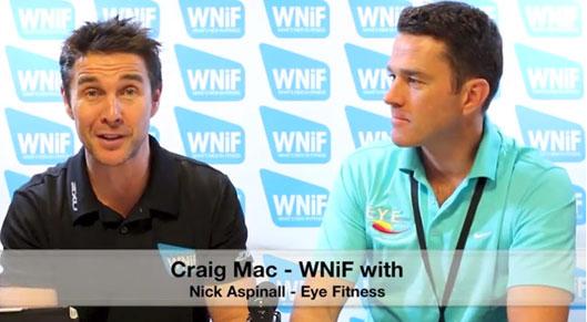 EYE Fitness Director Nick Aspinall chats with Craig Mac