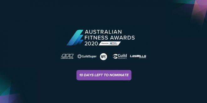 Australian Fitness Awards - Powered by Fitness Australia