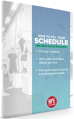 NPE - How To Fill Your Schedule - Download your free guide