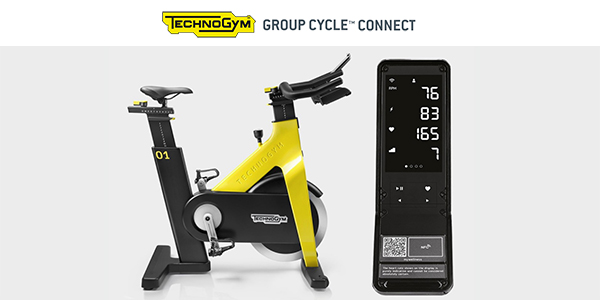 New Technogym Group Cycle Connect - The Set Up