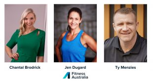 Newly Announced Board - Fitness Australia
